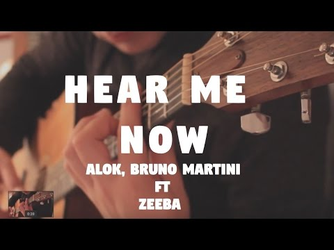 "Alok, Bruno Martini feat Zeeba ""Hear Me Now"" on Fingerstyle by Fabio Lima"