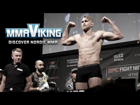 UFC Sweden 4 Weigh Ins Alexander Gustafsson vs  Anthony Johnson