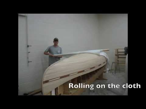 Hand Built Cedar Strip Canoe