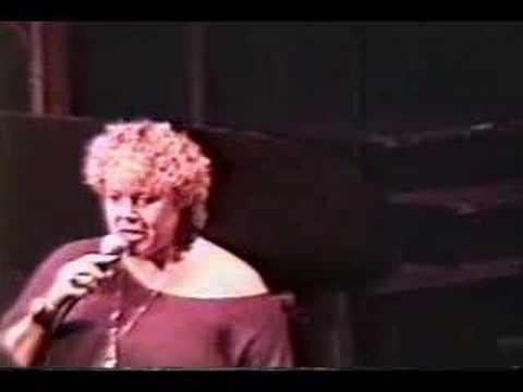 Vocalist Rebecca Parris Sings