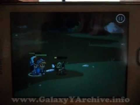 Battleheart (RPG) on Samsung Galaxy Y