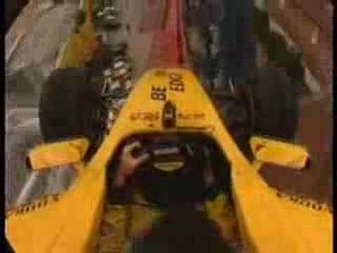 World's Wierdest Roller Coaster : F1 car on a roller coaster