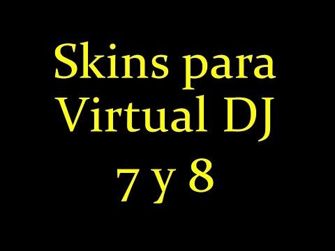 Virtual Dj: Mega pack Skins Para Vdj 7 y Vdj 8 HD | Descarga e instalación