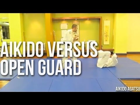 AIKIDO VERSUS OPEN GUARD Image 1