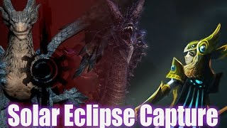 Solar Eclipse - Video of Capture- Dragon