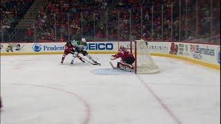 Radulov picks up steam and buries backhander