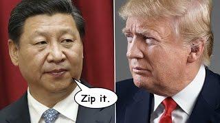 China to Trump: Shut Your Big Fucking Mouth