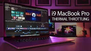 i9 MacBook Pro - Finding Thermal Throttle 🔥