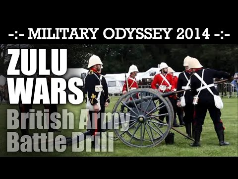 ZULU WARS British Army Display Military Odyssey 2014 | HD