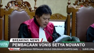 Setya Novanto Menanti Vonis - BREAKING NEWS