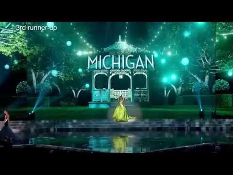 Miss USA 2015 - Top 5 favourites