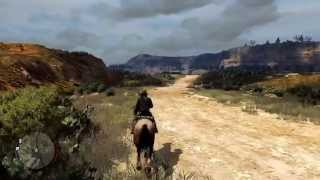 Red Dead Redemption - First ride into Mexico HD