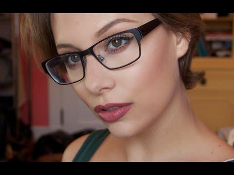 Makeup For Glasses Kylie Jenner Inspired Tutorial YouTube