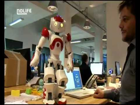 My future pet called Nao the Humanoid Robot