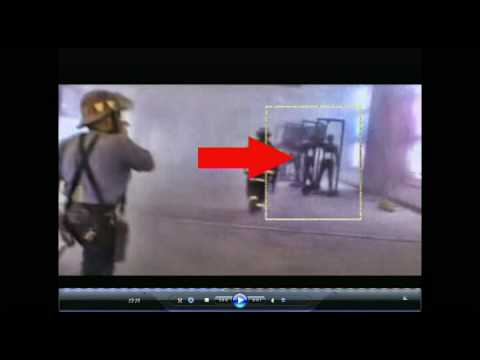 NEW 9/11 mystery? Strange framed dummy people inside WTC building