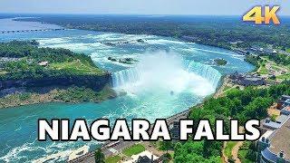 NIAGARA FALLS - ONTARIO, CANADA 2019 4K