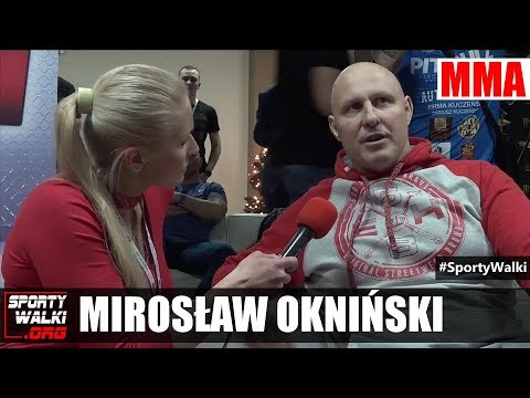 KSW 41: Mirosław Okniński W Studio Gali W Katowicach