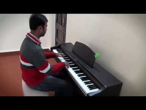Rimjhim Gire Sawan Piano Cover by Chetan Ghodeshwar
