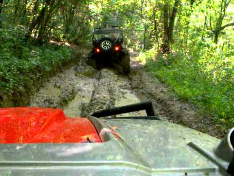 Off Roading at Trail's End Campground