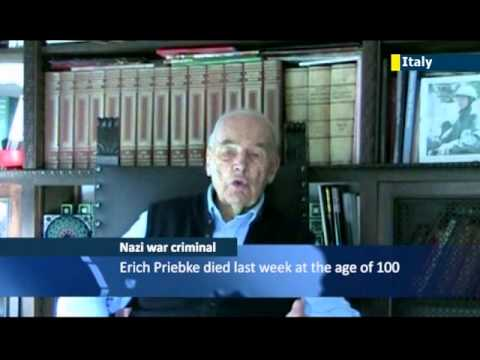 Lawyers of Nazi war criminal Erich Preibke release video of unrepentant Nazi defending executions