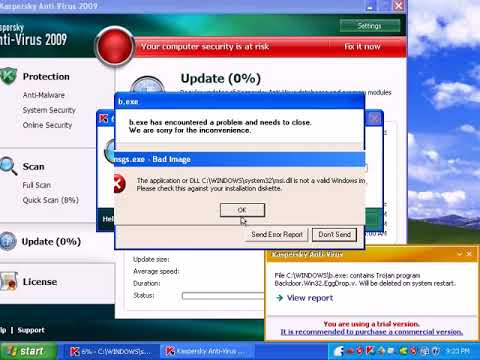 Kaspersky AntiVirus 2009 Review - Part 2