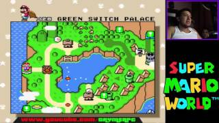 Super Mario World - donut ghost house ( Capitulo 12 ) en español