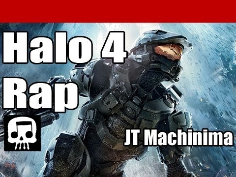 "Halo 4 Rap by JT Machinima ""The Reclaimer"""