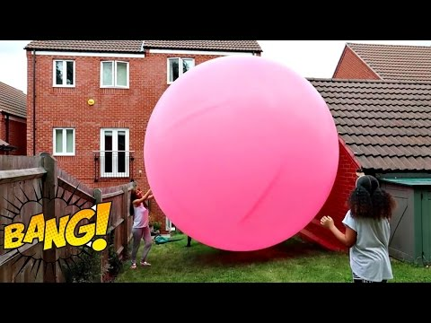 GIANT BALLOON TOY SURPRISE! Shopkins Happy Places Shoppies - Toy Opening