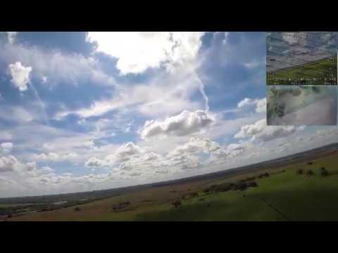 HD/DVR 2/18/20 My First FPV Wing Flight! (S800 w/ BrainFPV Wing Stuff & Hero 8)
