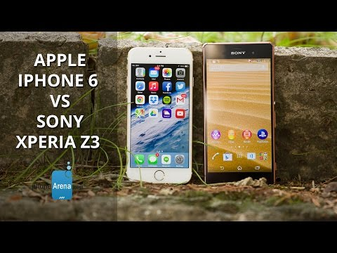 Apple iPhone 6 vs Sony Xperia Z3