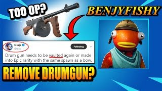 Ninja Says Drumgun NEEDS To Be REMOVED.. Benjyfishy Says NO & Gives All Season 9 SECRETS!