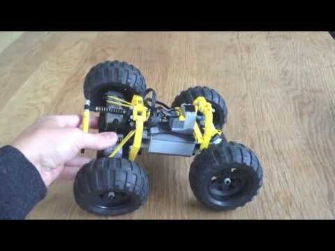RACE2 - super fast LEGO RC off road car