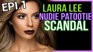 LAURA LEE NUDIE PATOOTIE - EPISODE 1 - EYE SHADOW PALETTE