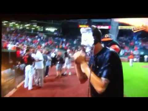 Kevin Gausman celebrates with a pie in the face!