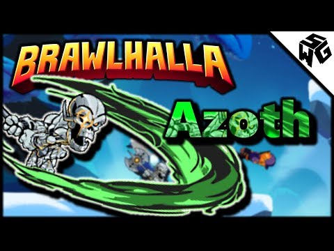 Diamond Ranked Azoth 1v1's - Brawlhalla Gameplay :: How Do Pro's Do This?!