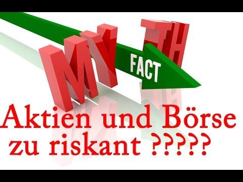 3 Mythen Zu Aktien Und Börse - 1/3 Risiko. Aktien Für Anfänger. Aktienhandel Lernen.
