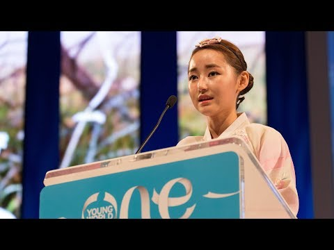 Escaping from North Korea in search of freedom | Yeonmi Park | One Young World