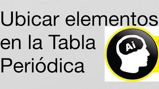 La mejor tabla peridica de los elementos qumicos tamode para como ubicar un elemento en la tabla peridica urtaz Image collections
