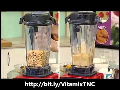 Vitamix 5200 6300 7500 Make Peanut Butter Demo