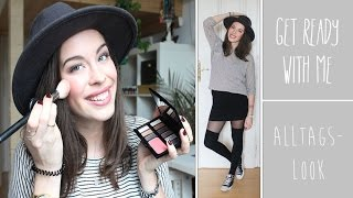 GET READY WITH ME | Mein Alltagslook + Outfit | TRAVEL EDITION