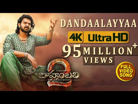 Dandaalayyaa Full Video Song - Baahubali 2 Video Songs | Prabhas, Anushka, Ramya Krishna thumbnail
