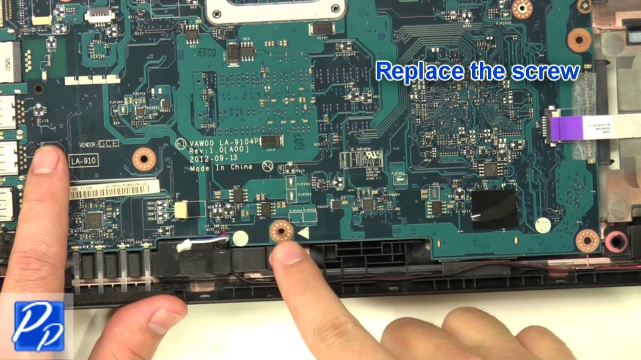 Dell Inspiron 15  3521    5521  Motherboard Replacement Video Tutorial