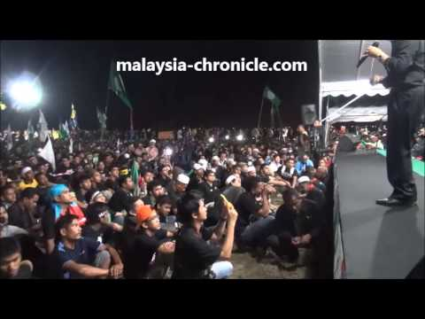 Anwar Ibrahim's speech at Kedah Black 505 - May 21, 2013