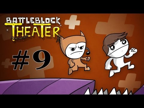 BattleBlock Theater Co-op Walkthrough w/ SSoHPKC and Sly Part 9 - Forgotten Hats