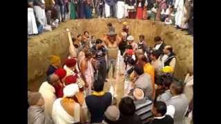 Anant Sheesh installation @ ISKCON temple Bahadurgarh (4th Jan'13)