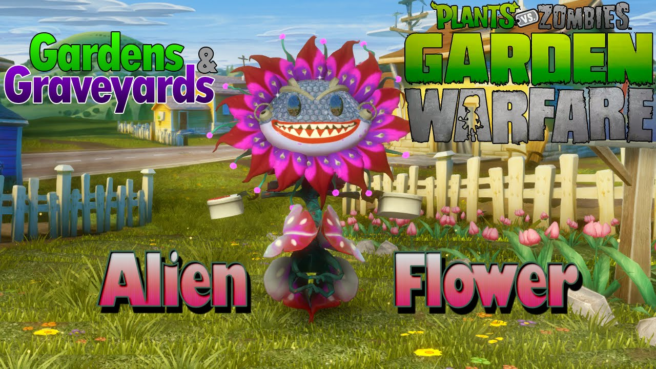 Warfare Aliens Zombies Garden Warfare Alien