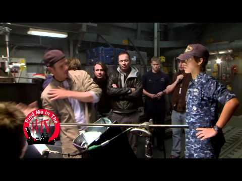 Behind The scene Battleship with Rihanna