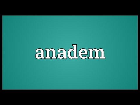 Header of anadem
