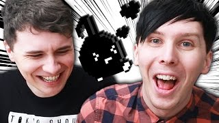 We hAVE to SHOUT to juMP??! - Dan vs. Phil: YASUHATI Don't Stop Eighth Note