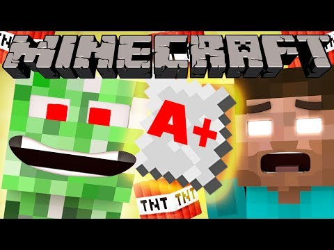 If Creepers went to School - Minecraft